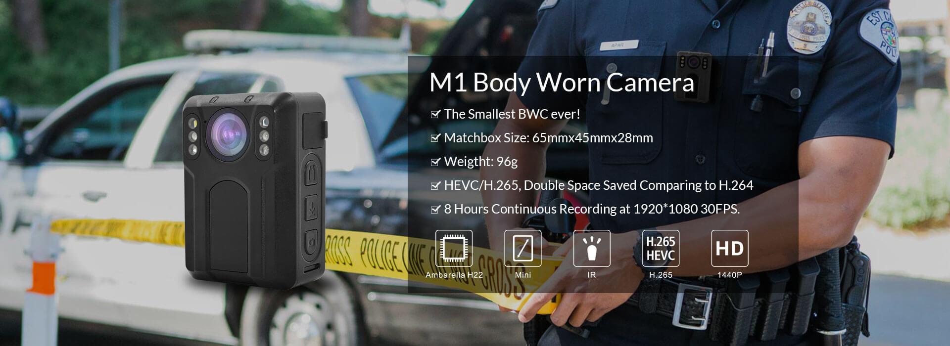 M1 Body Worn Camera