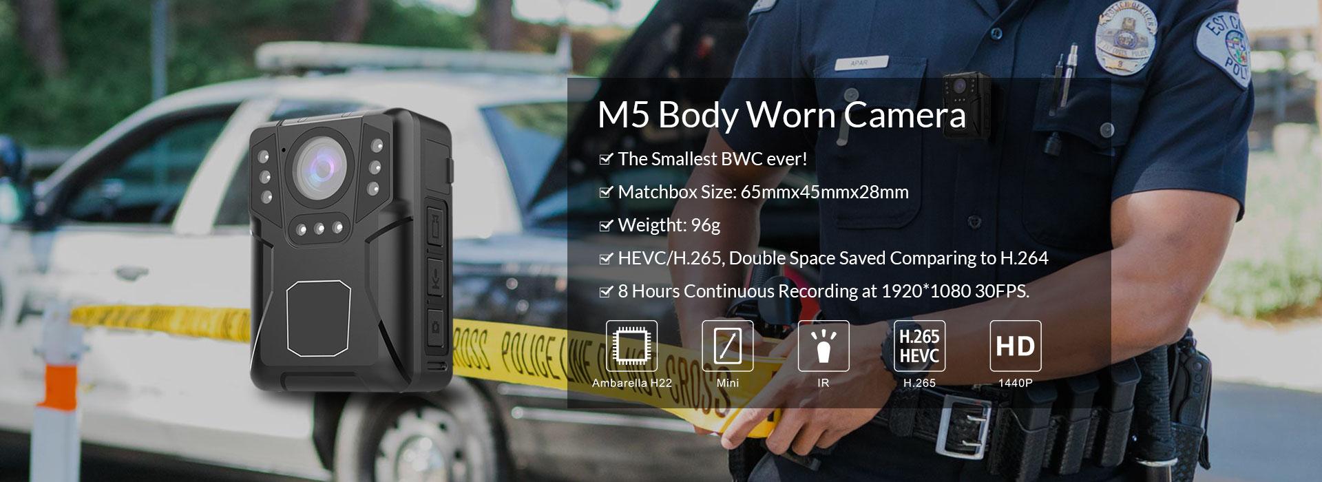 M5 Body Worn Camera