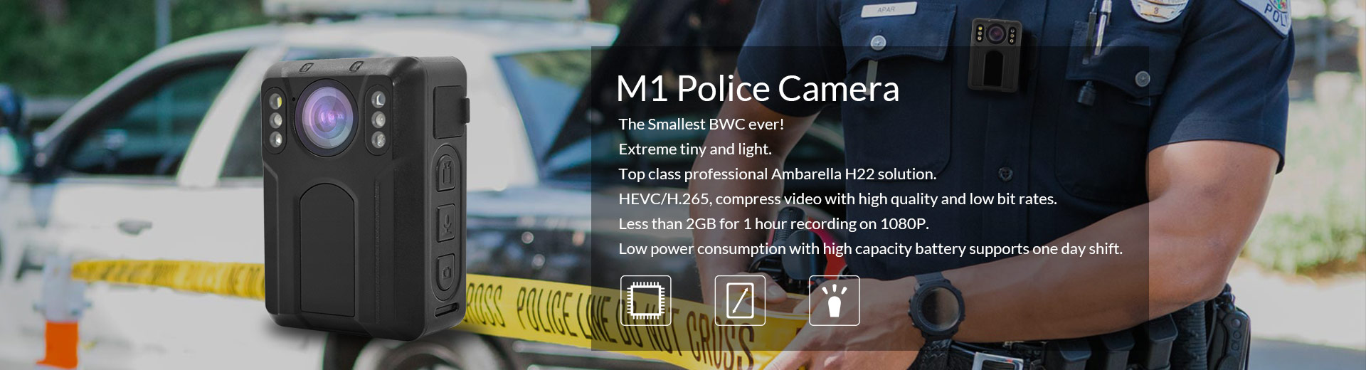 M1 Police Camera