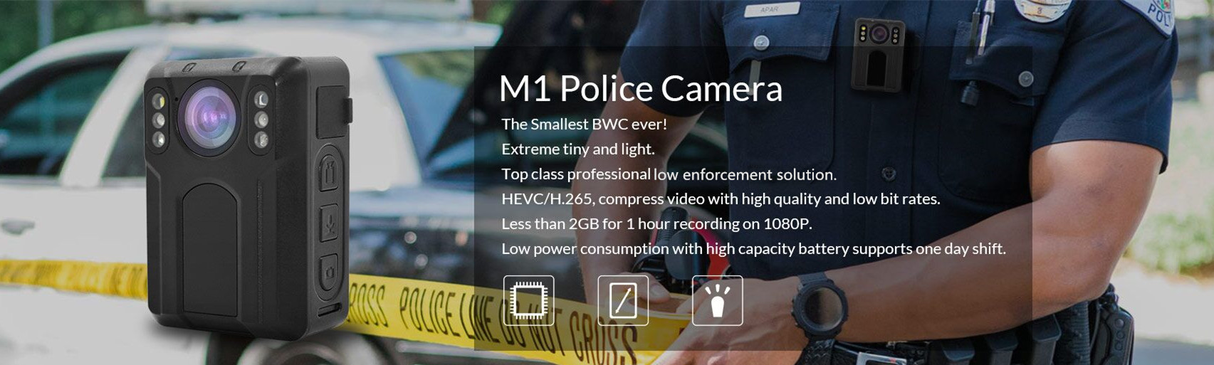M1n Pocket Body Worn Camera