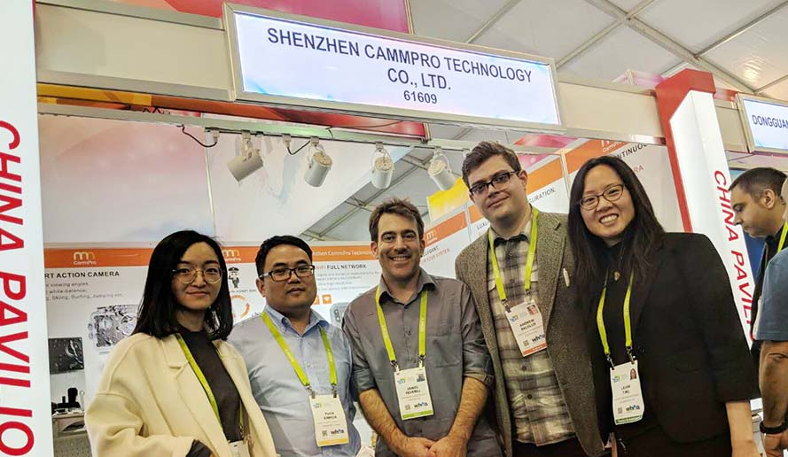 Oct. 2018 Cammpro achived successful exhibitiones in HK, Las Vegas and Moscow. CammPro is becoming the fastest developing body worn camera manufaturer in China.
