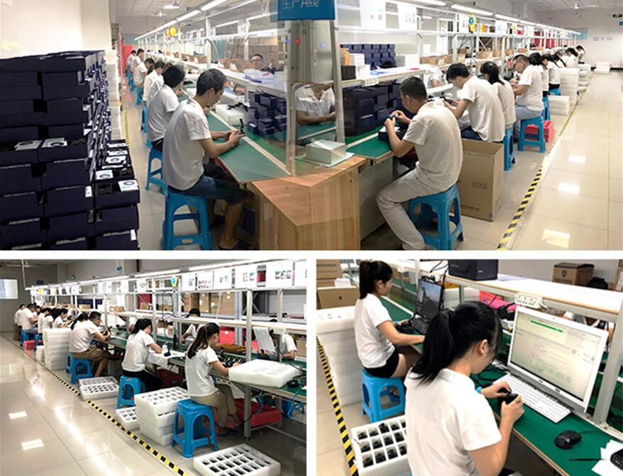 Shenzhen CammPro Technology Co,.Ltd Factory Display