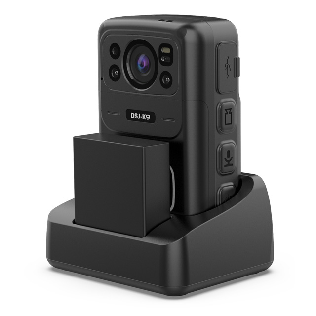K9h Swappable Battery 4G Body Worn Camera
